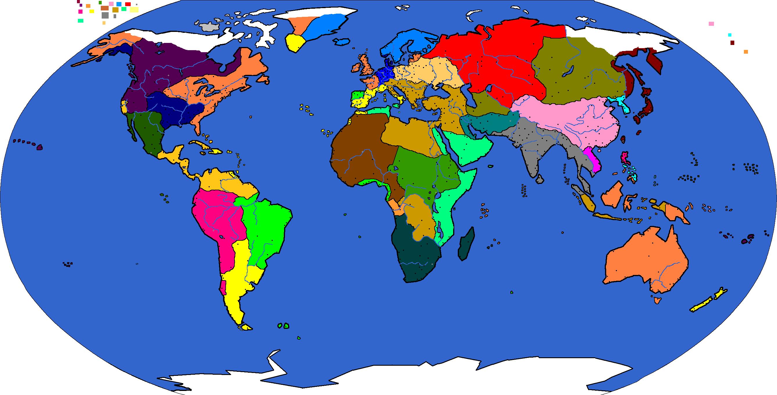 2025 : World Map | Page 2 | CivFanatics Forums