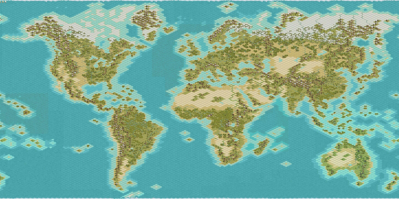 Kal Els Clean 180x180 Earth: Modder's Paradise | CivFanatics Forums