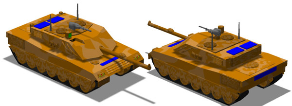 New Unit : Ariete Roman (Italian) Main Battle Tank
