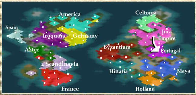 world map 2050