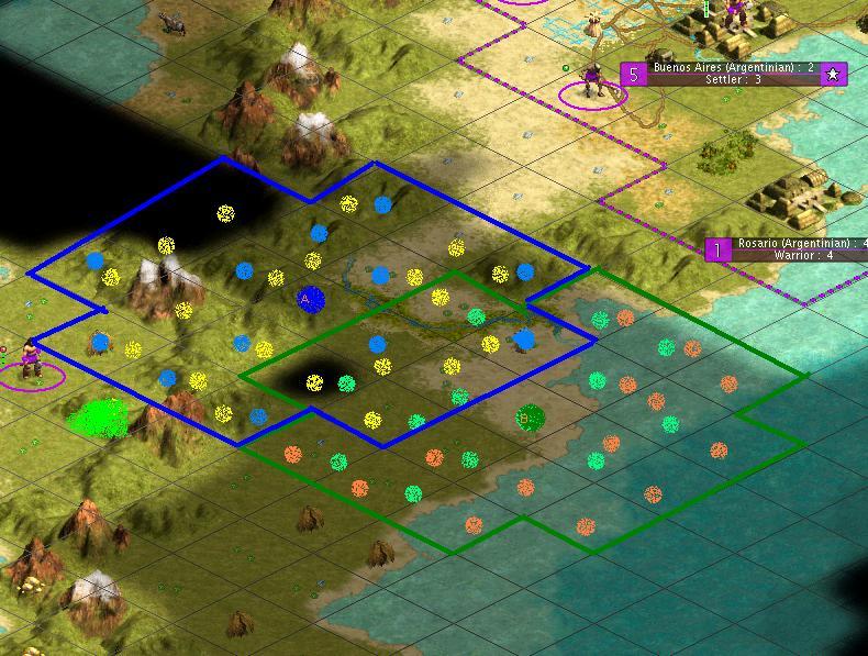 Build City On Coast Civ